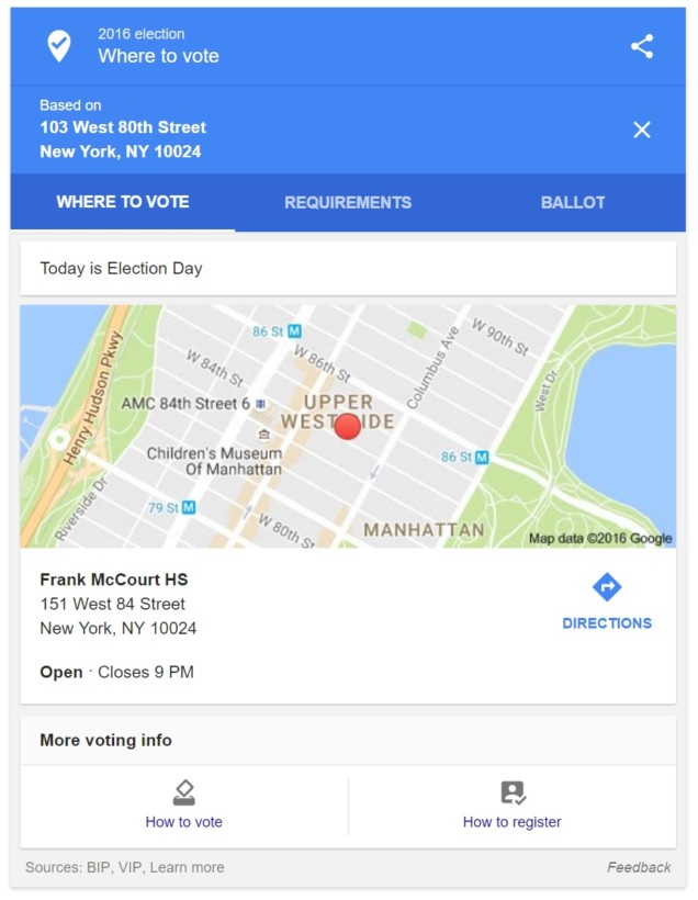 google-maps-election-day-2