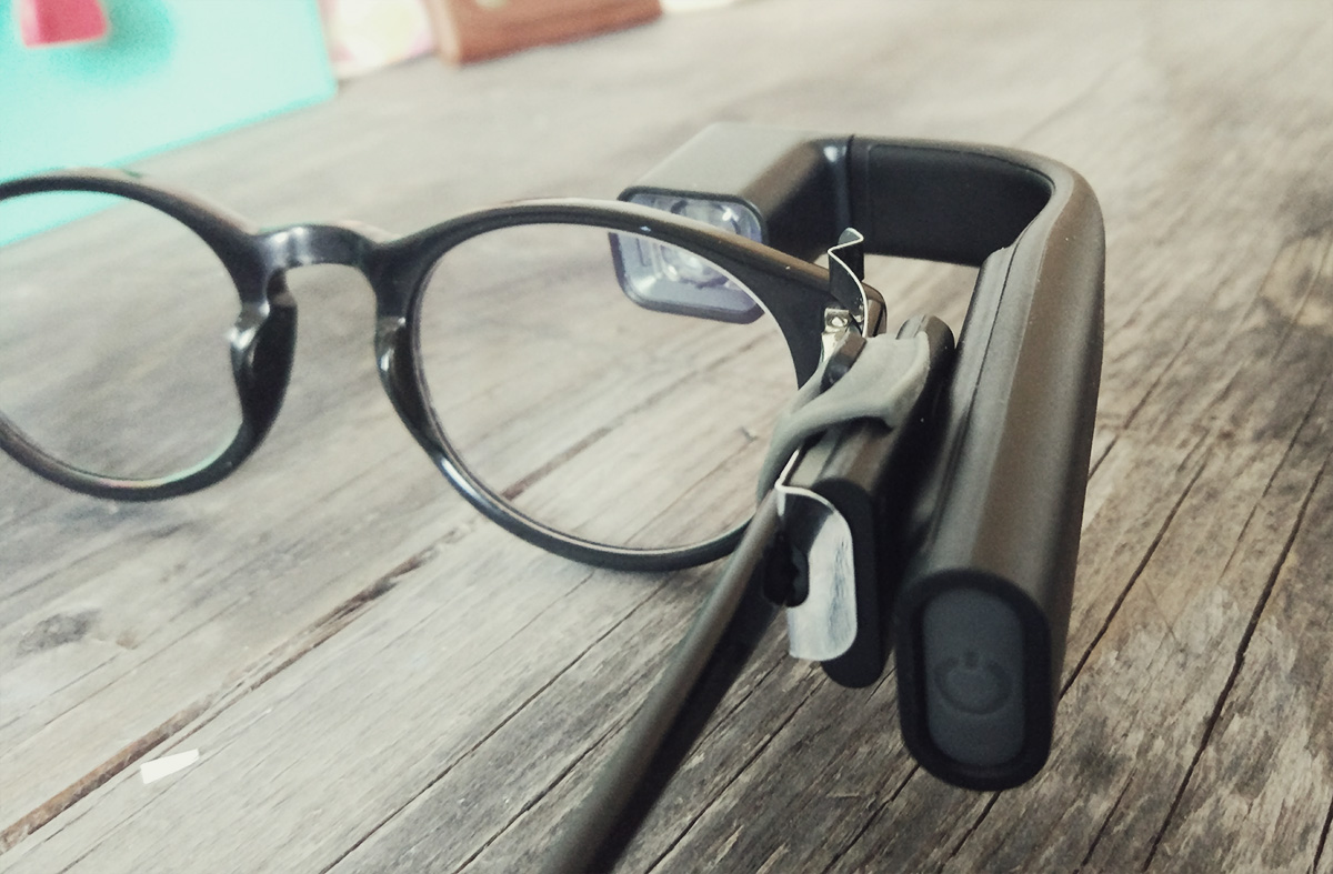 vufine-with-stabilizer-on-glasses
