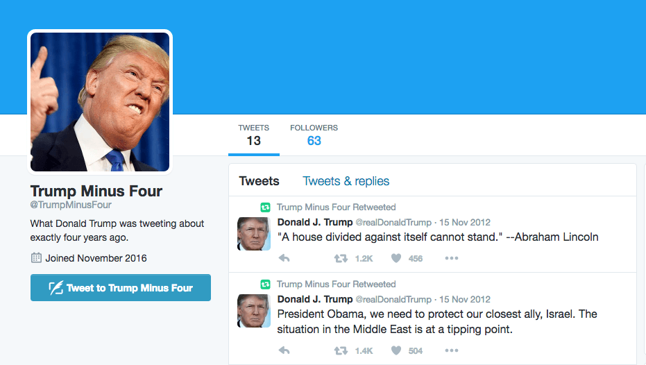 Trump Minus Four Twitter on Latest White House Firing