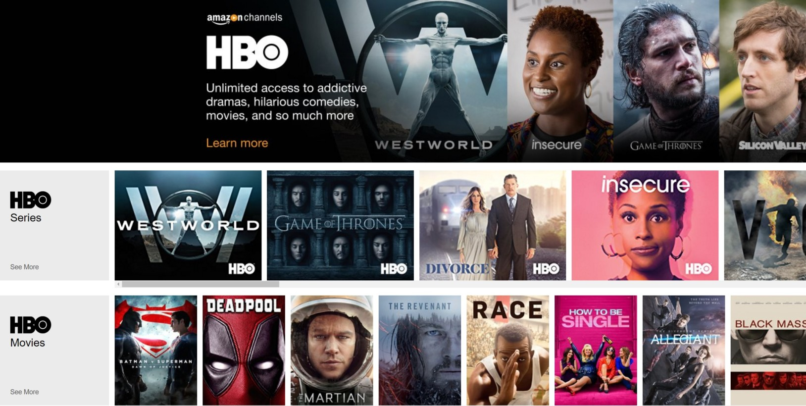 Amazon Prime Video Differs From Some Of Itspetitors By Offering  Separate Addon Channels In Addition To What's Included With Your Prime  Membership