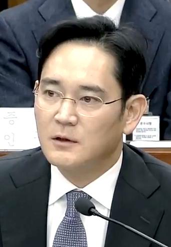 Samsung Group's Jay Y. Lee
