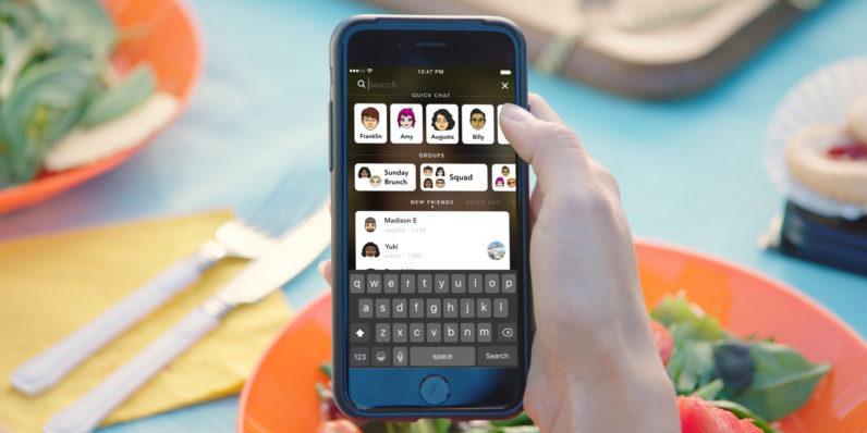 snapchat new redesign ile ilgili görsel sonucu
