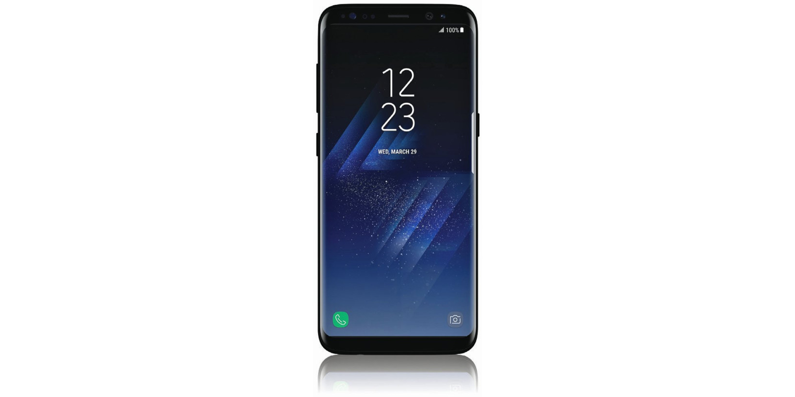 leaked samsung galaxy s8 render gives us a better look at its extra button. Black Bedroom Furniture Sets. Home Design Ideas