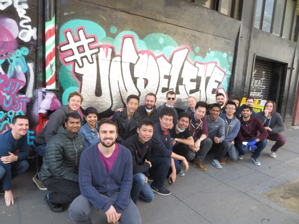 photo image Uber Employees created an #Undelete mural, because of course they did