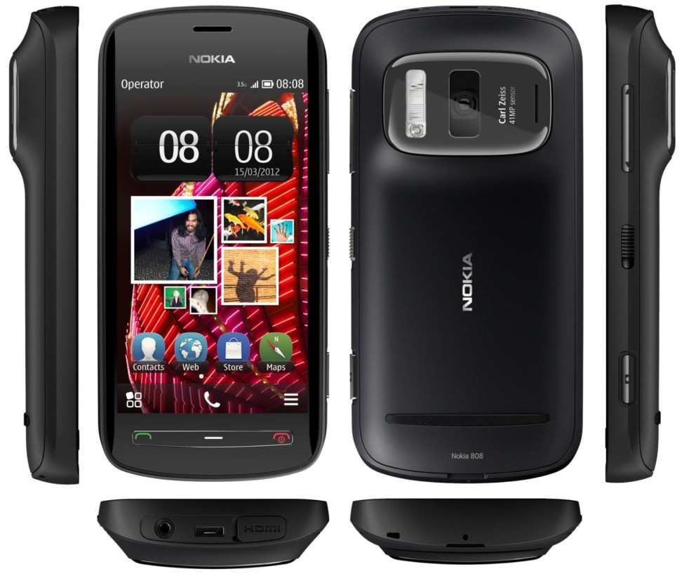 Nokia 808 with PureView camera technology